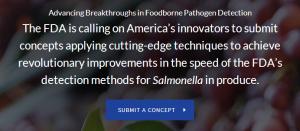 FDA_salmonella Idea Contest