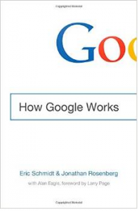 How Google Works book