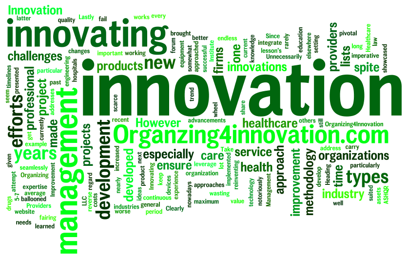 Healthcare innovation healthcare improvement process for Product innovation agency