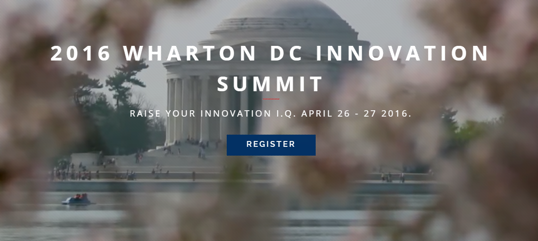 Wharton DC Innovation Summit